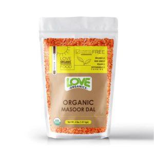 Organic Masoor Dal